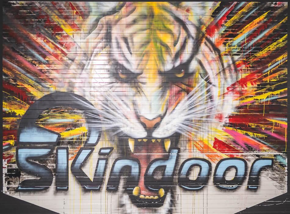 Skindoor Logo Tiger
