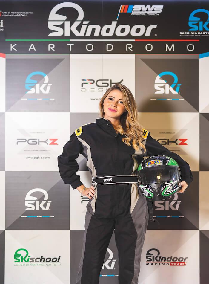 Skindoor Girl Go Kart