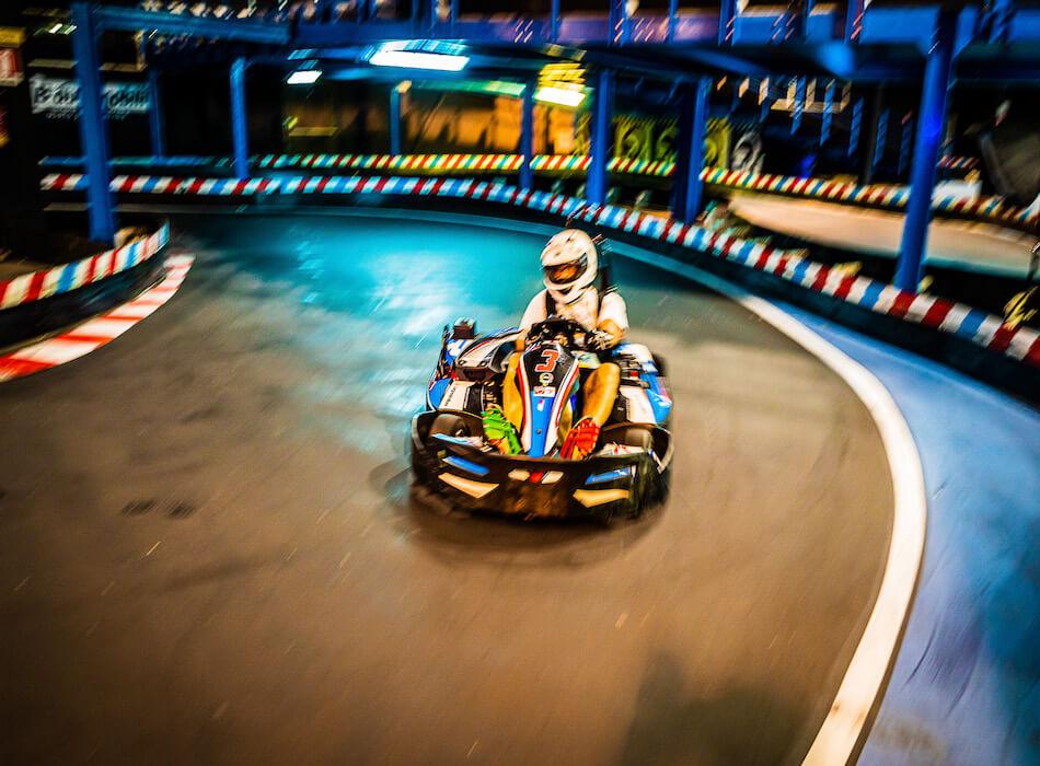 Skindoor Go Kart Curva