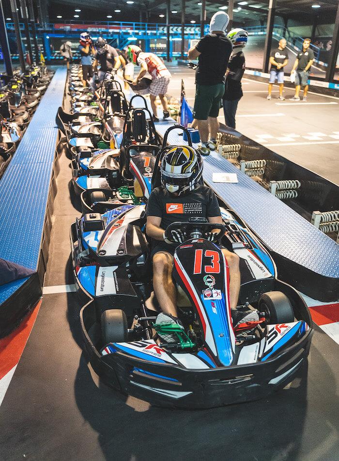 GoKart race